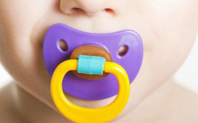 Uso del succhiotto e malocclusione dentale